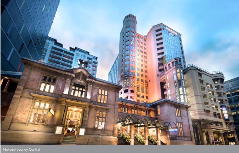 Ascott REIT - Novotel Sydney Central