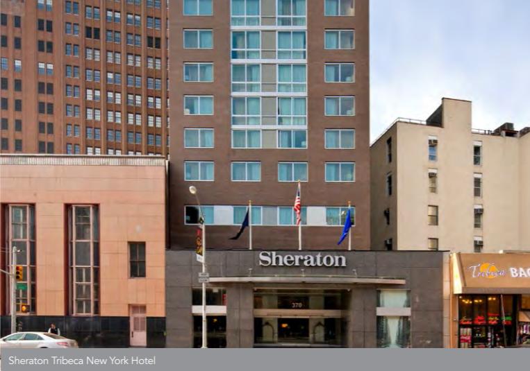Ascott REIT - Sheraton Tribeca New York Hotel