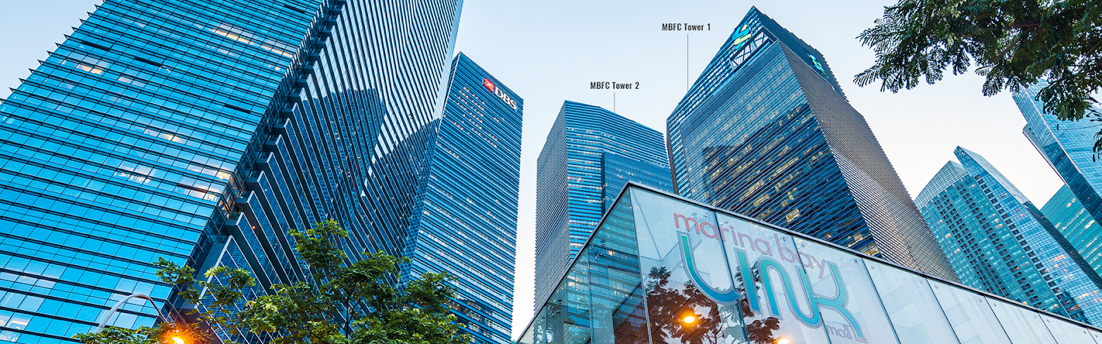 Suntec REIT - Singapore Property, Marina Bay Financial Centre (MBFC)