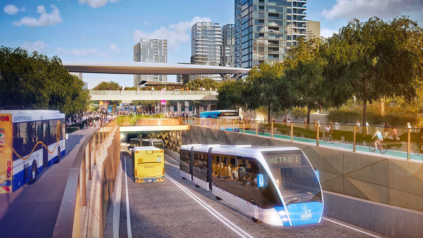 Brisbane Gets Secular Growth Boost From Infrastructure - Brisbane Metro