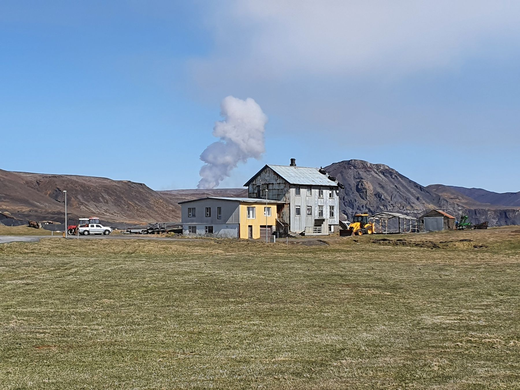 The Hottest Property on the Market Comes With an Active Volcano