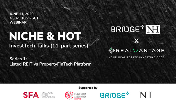 Invited Talk - RealVantage Weighs in on Proptech / FinTech Platforms