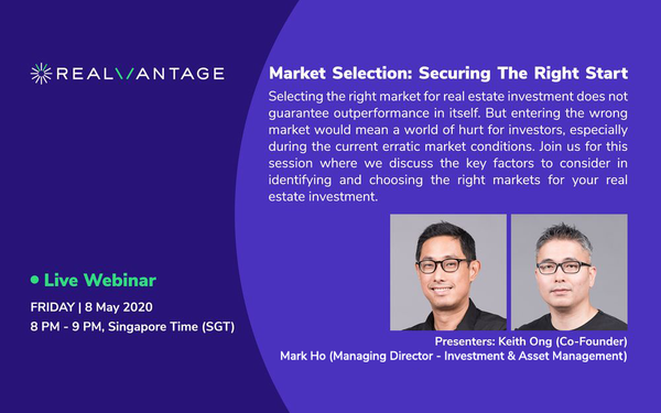 Market Selection: Securing the Right Start
